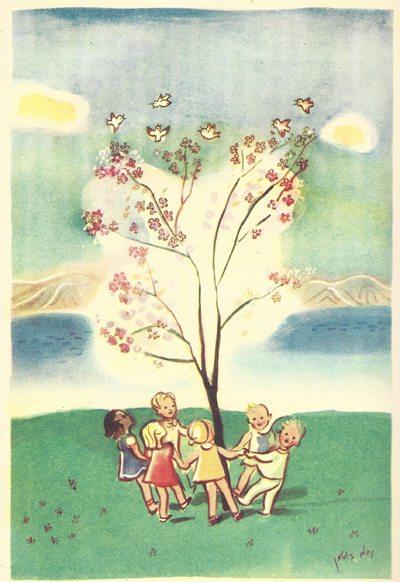 ציור של גוטמן לטו בשבט