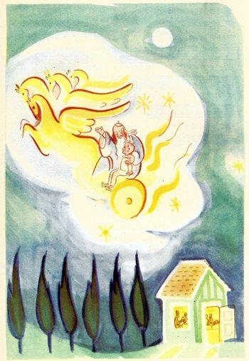 ציור של גוטמן לפסח