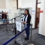 5 תמי ישראלי, ראש מכון לוין קיפניס לספרות ילדים, בדברי הפתיחה לאירוע